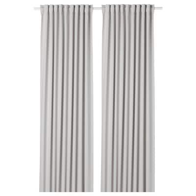 Glansnava Curtain Liners 1 Pair Light Gray 56x94 Ikea Room Darkening Curtains Room Darkening Curtains