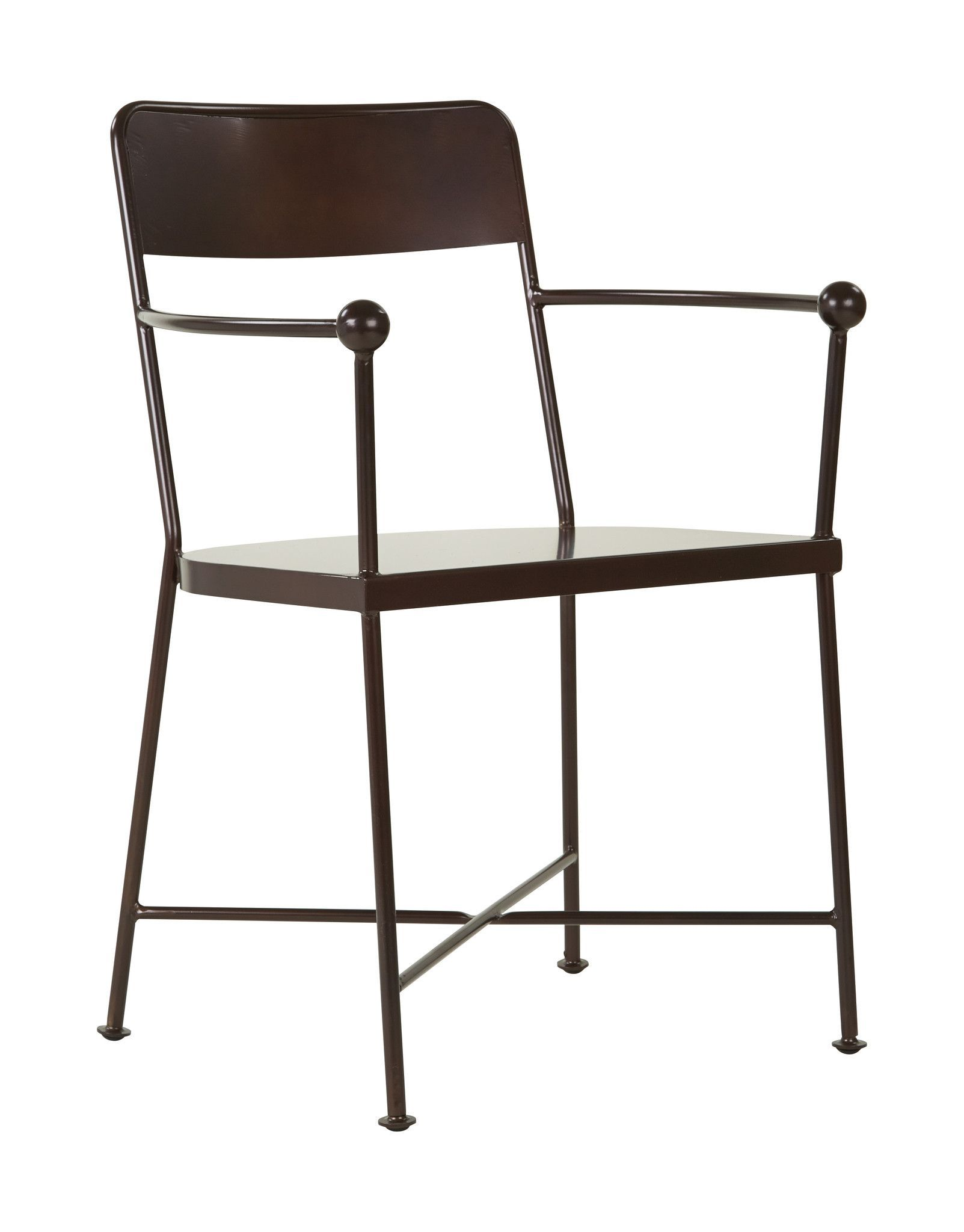 Osp designs westport metal chair in copper finish fully assembled