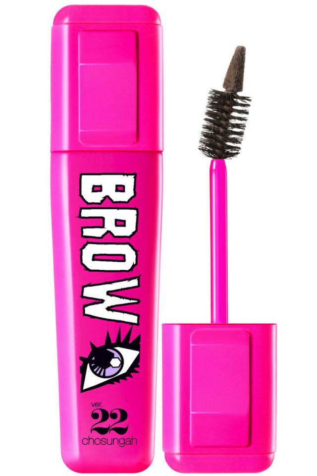 First coat your brows in natural, waterproof formula for a hairspray hold effect, then use the tip to draw tiny hairs—genius.  Chosungah 22 Dong Gong Minn Brow Maker in Grey Brown, $22, sephora.com.