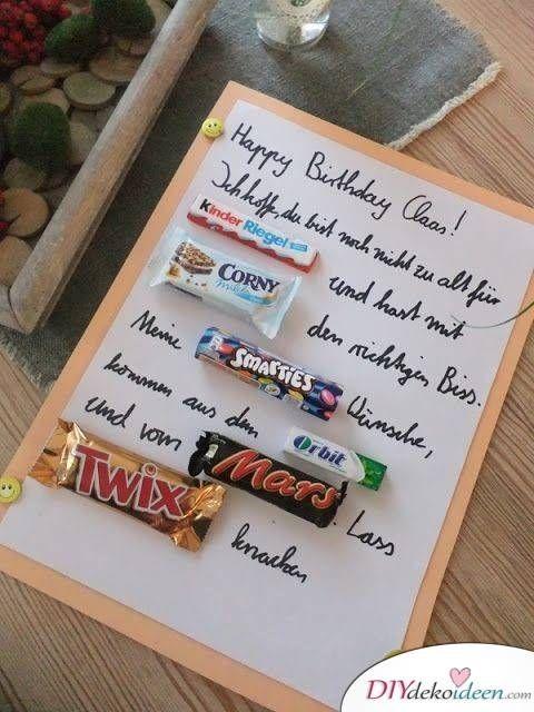 30 Geschenkideen Zum Selber Machen Zum Geburtstag Tolle