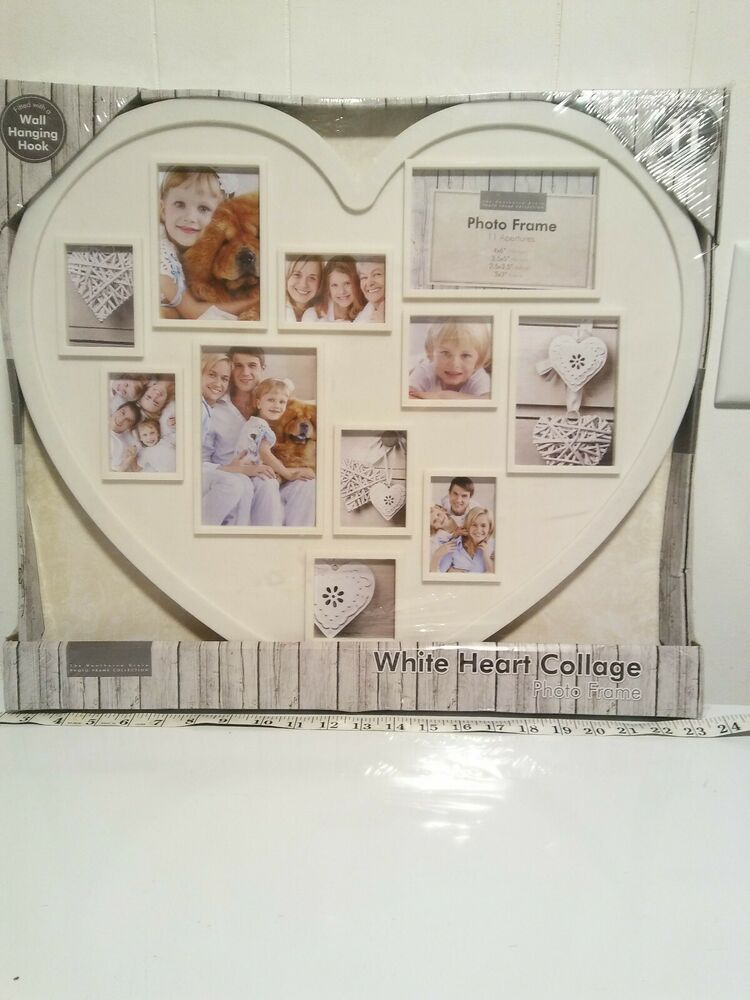 Collage Picture Frame Holds 11 Images Wall Hanging Multiple Family Photos Heart Joicegift Collage Picture Frames Frame Wall Collage Picture Collage