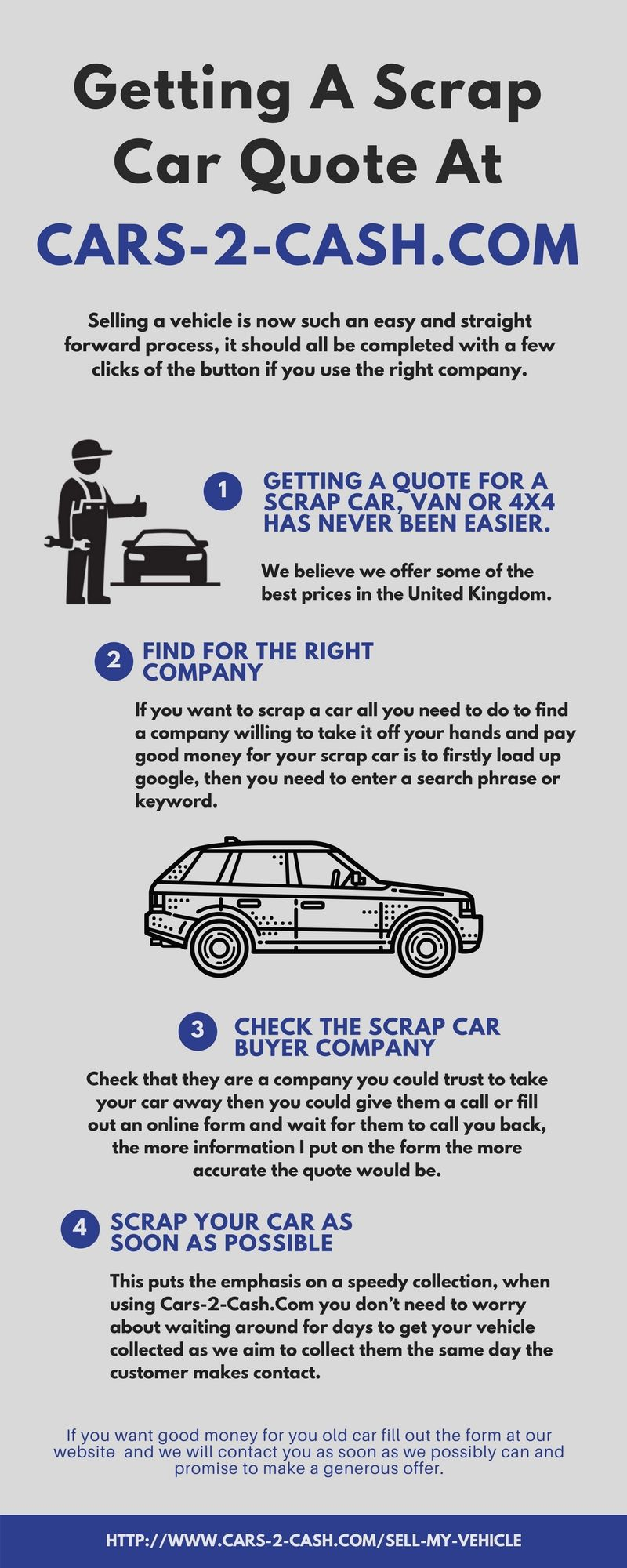 If you want the best value for your car you would be best getting a ...