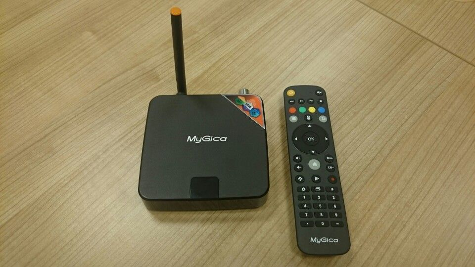 MyGica ATV586 Android TV Box with DVB-T2 receiver powered by Amlogic