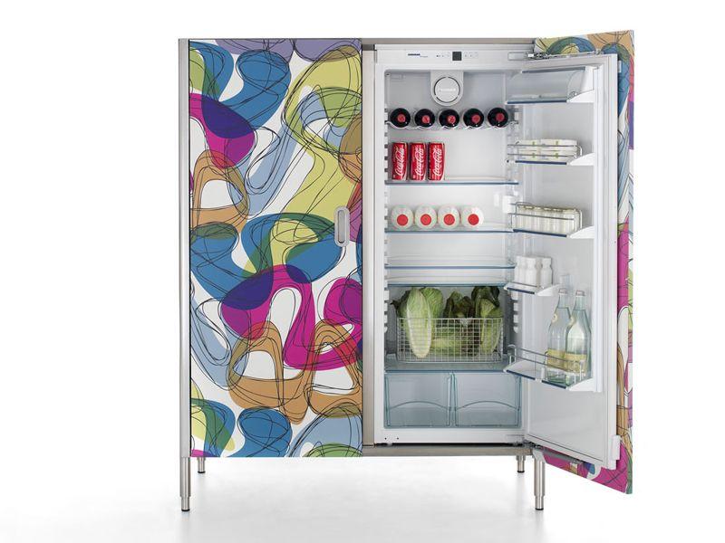 Fridge-freezer housing unit LIBERI IN CUCINA | Fridge - ALPES-INOX ...