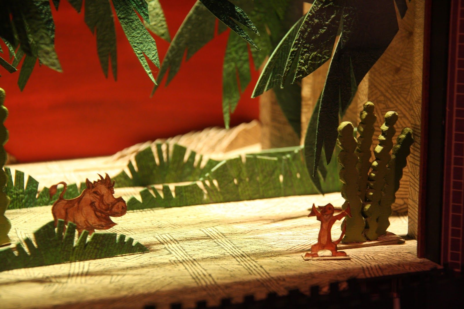 the lion king set design - Google Search