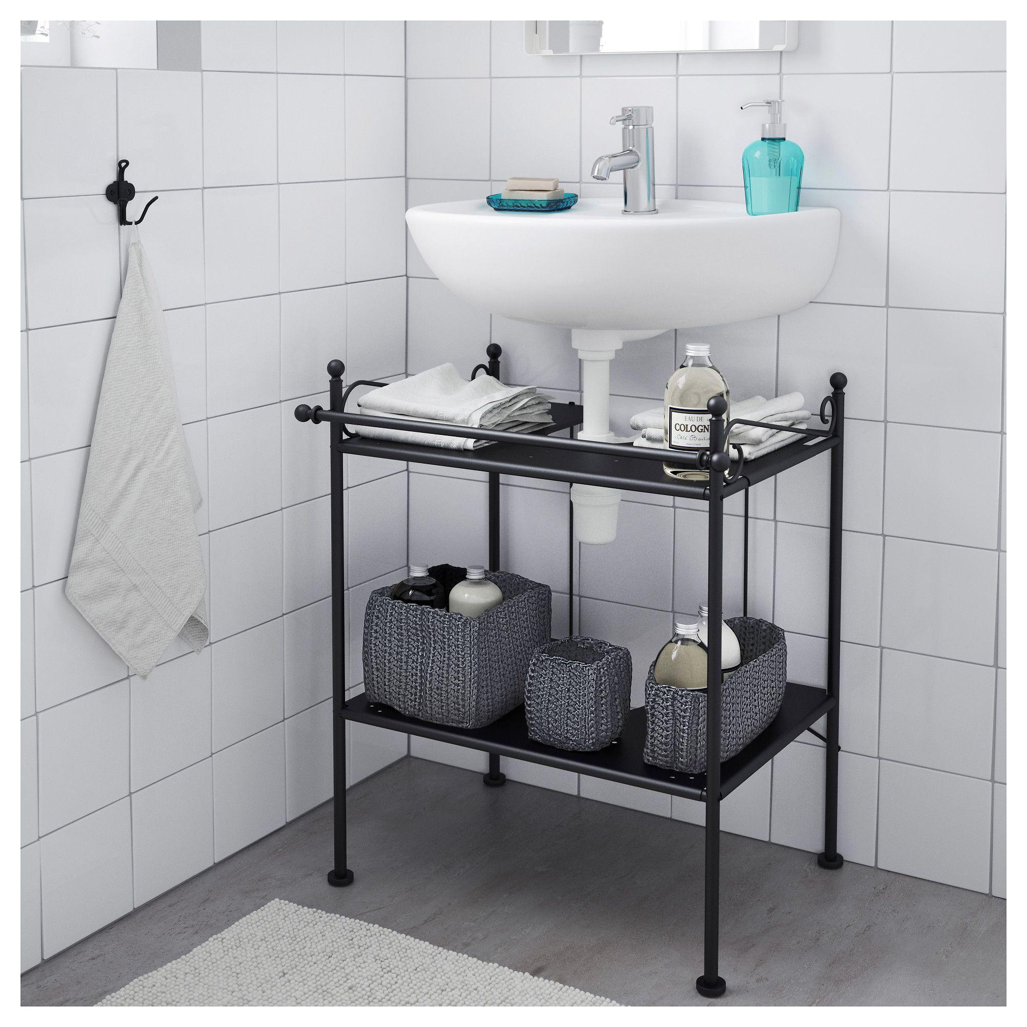 Ikea Salle De Bain Dynan ~ r nnsk r l ment lavabo noir pinterest house