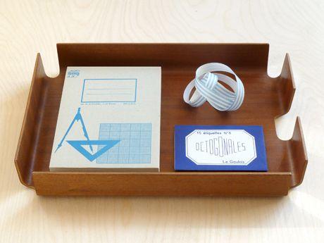 Plywood Desk Tray