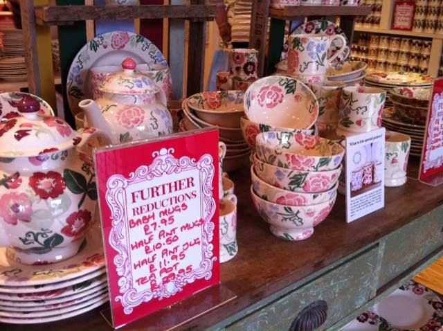 Emma Bridgewater Blossom for the Summer Sale 2013