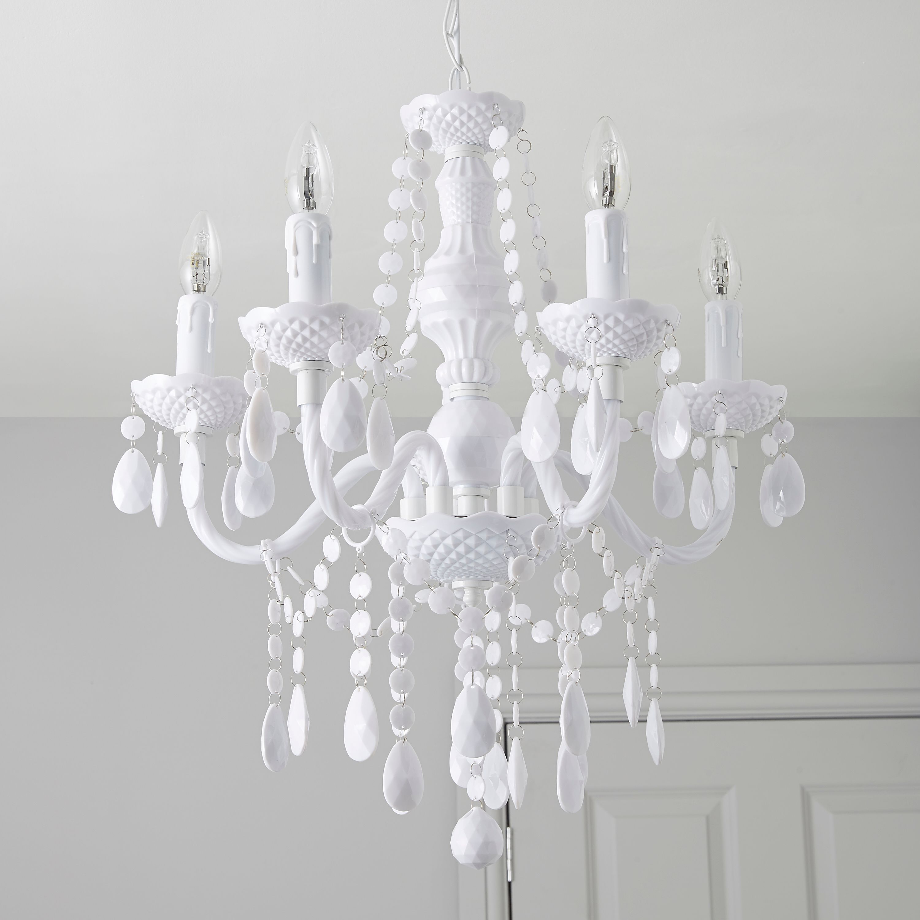 White Chandelier Google Search