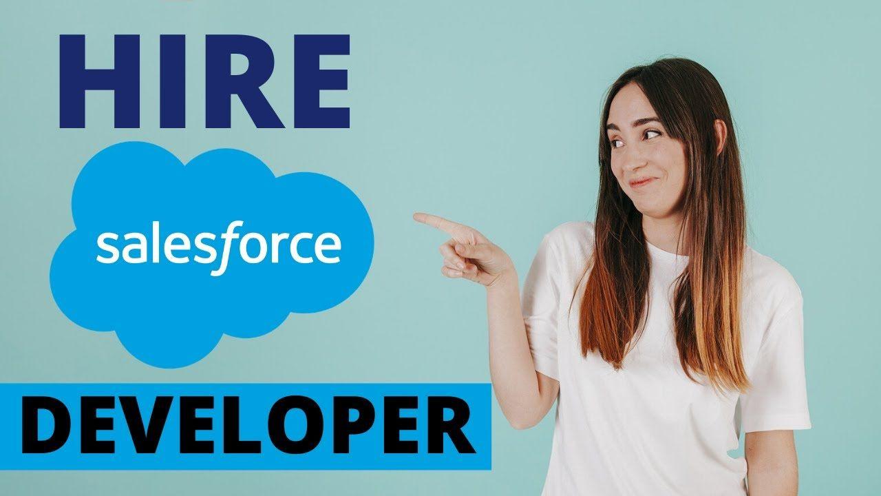 Salesforce development services hire certified