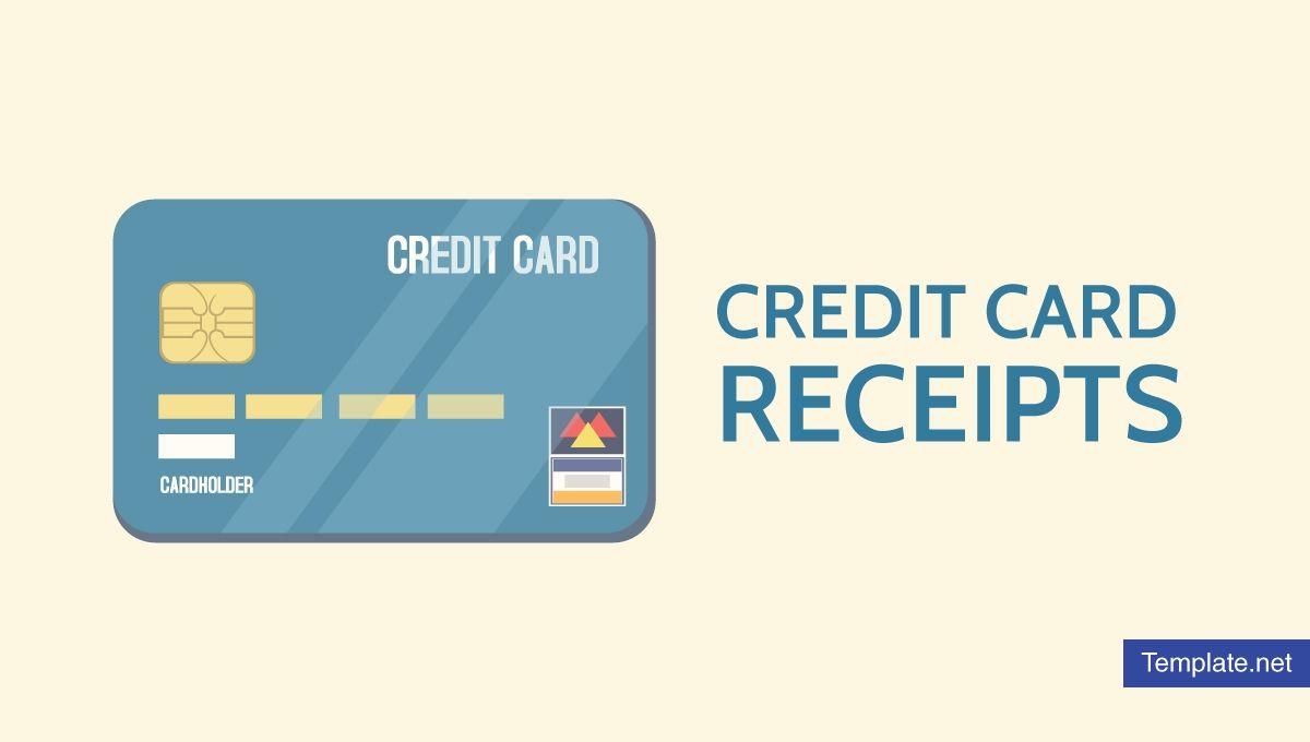 7 credit card receipt templates pdf in 2020 business