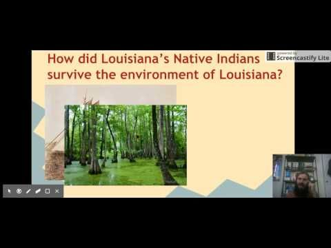 People of Louisiana Native Americans - YouTube