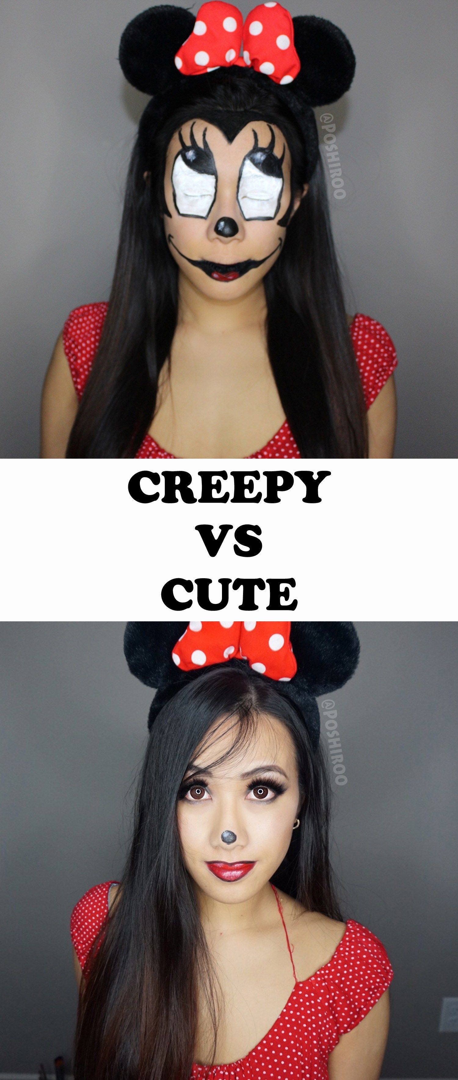 minnie mouse source zombie minnie mouse makeup tutorial for halloween hallowen org