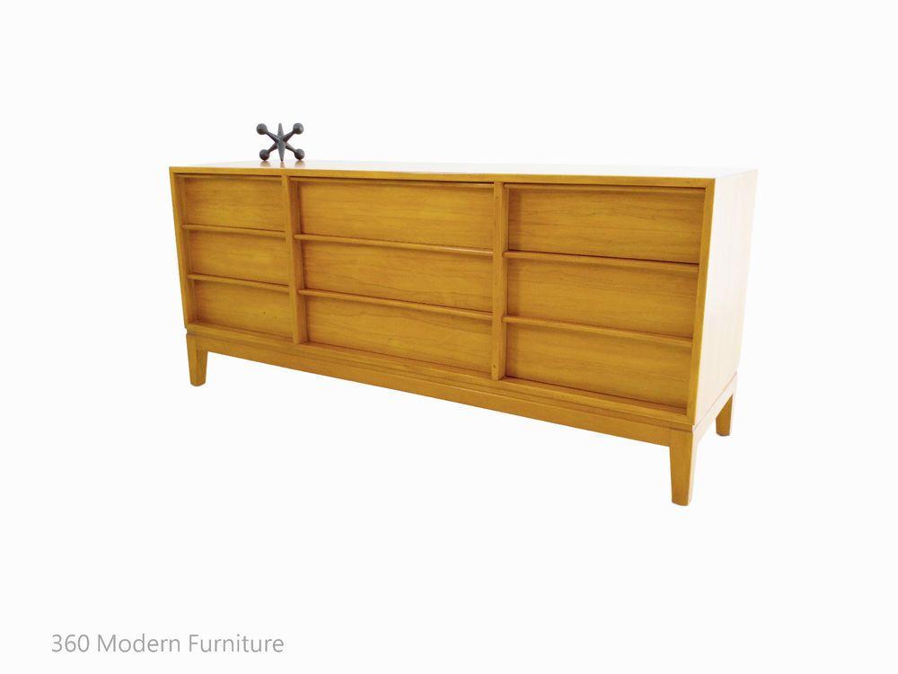Mid Century Hayson Sideboard Drawers Tv Unit Retro Vintage Blondewood Danish Era 360 Modern Furniture Mid Century Storage Furniture