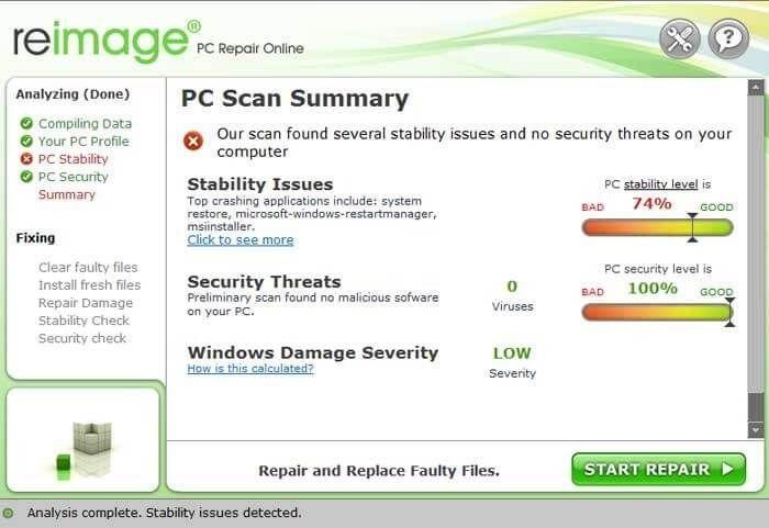 repair pc online free