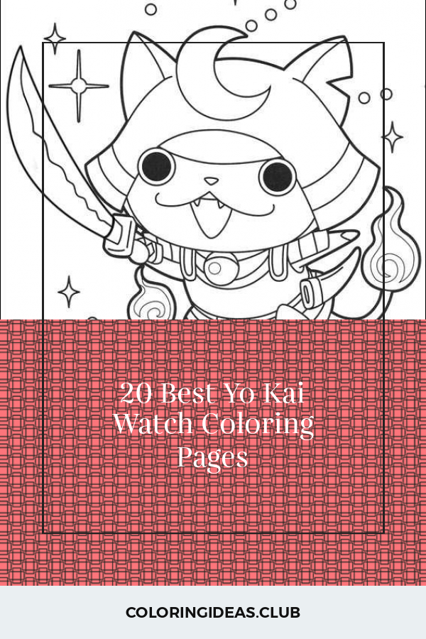 20 Best Yo Kai Watch Coloring Pages Coloring Pages Free Coloring Pages Online Coloring Pages