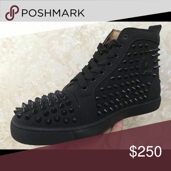 pretty nice 07fa9 57d5a High top spike loubs High top spiked men's loubs. Comes with ...