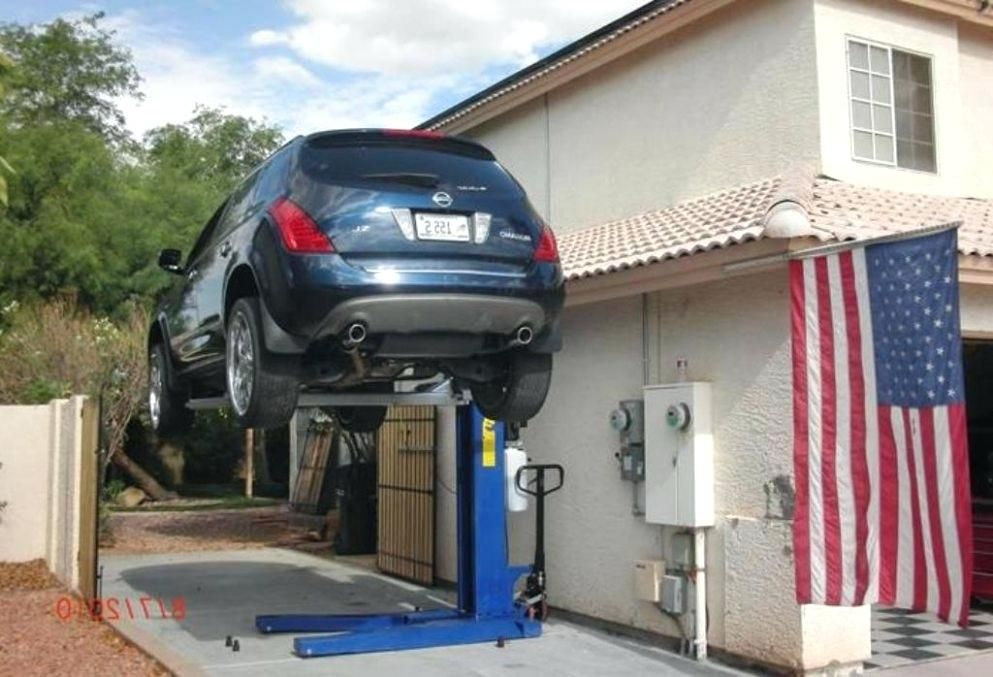 Image result for portable car lifts for home garage ...