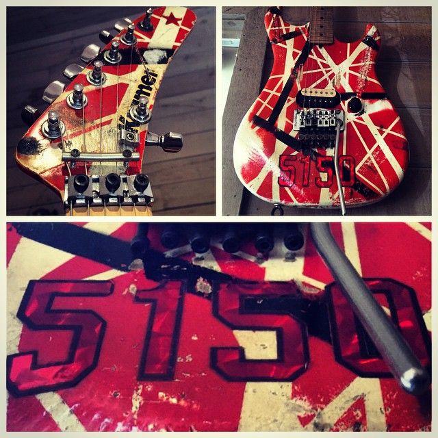 Instagram | EVH/GEAR & stuff | Van Halen, Guitar, Wolf van ...