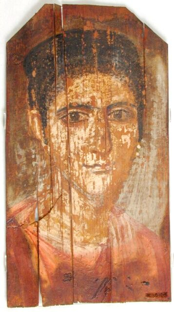 Mummy Portrait UC38103 -The Petrie Museum of Egyptian Archaeology, London.