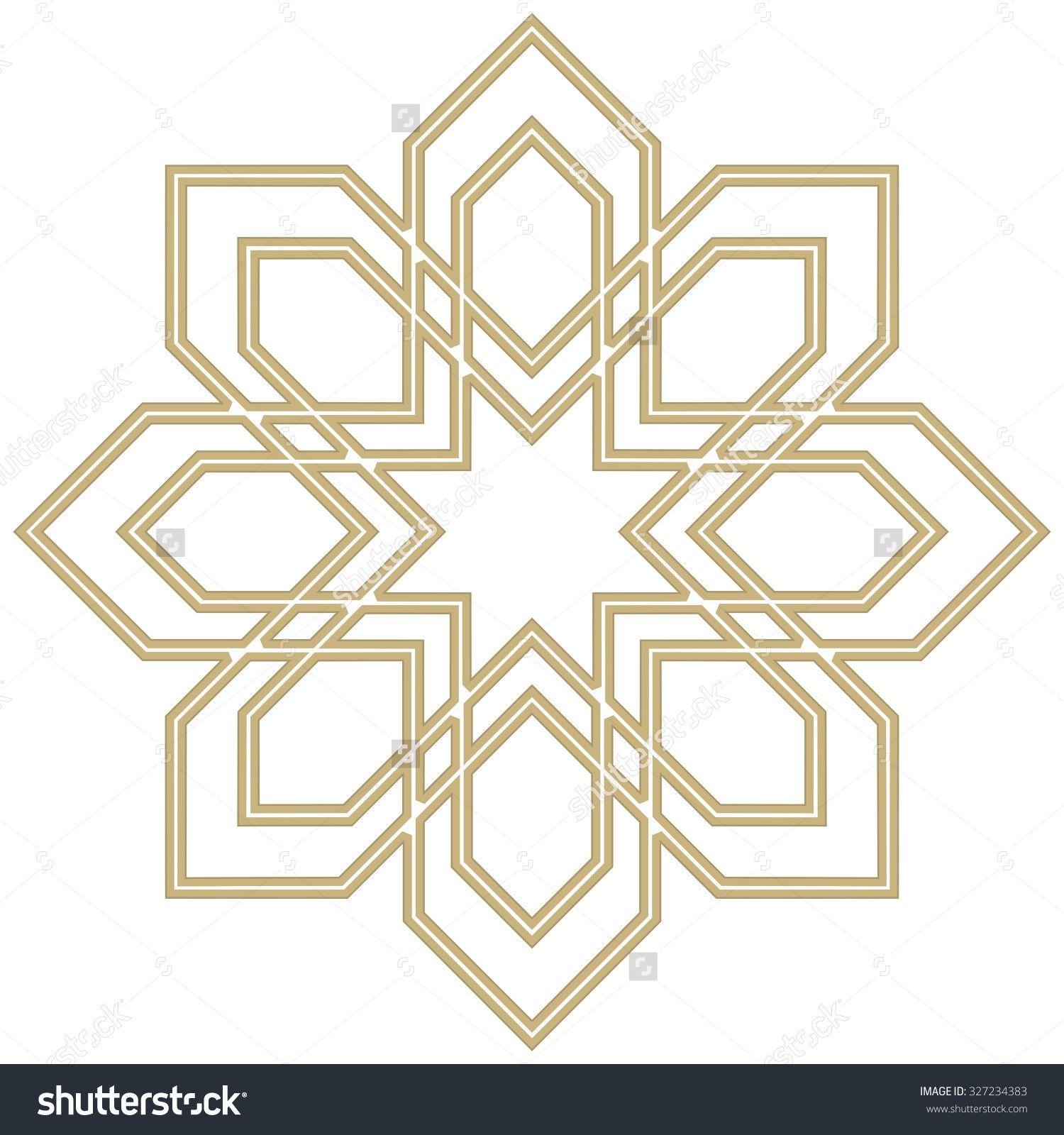Vector Decorative Line Art Frames For Design Template. Elegant Element For Design In Eastern Style, Place For Text. Golden Outline Floral Border. Lace Illustration For Invitations And Greeting Cards - 327234383 : Shutterstock #framesandborders