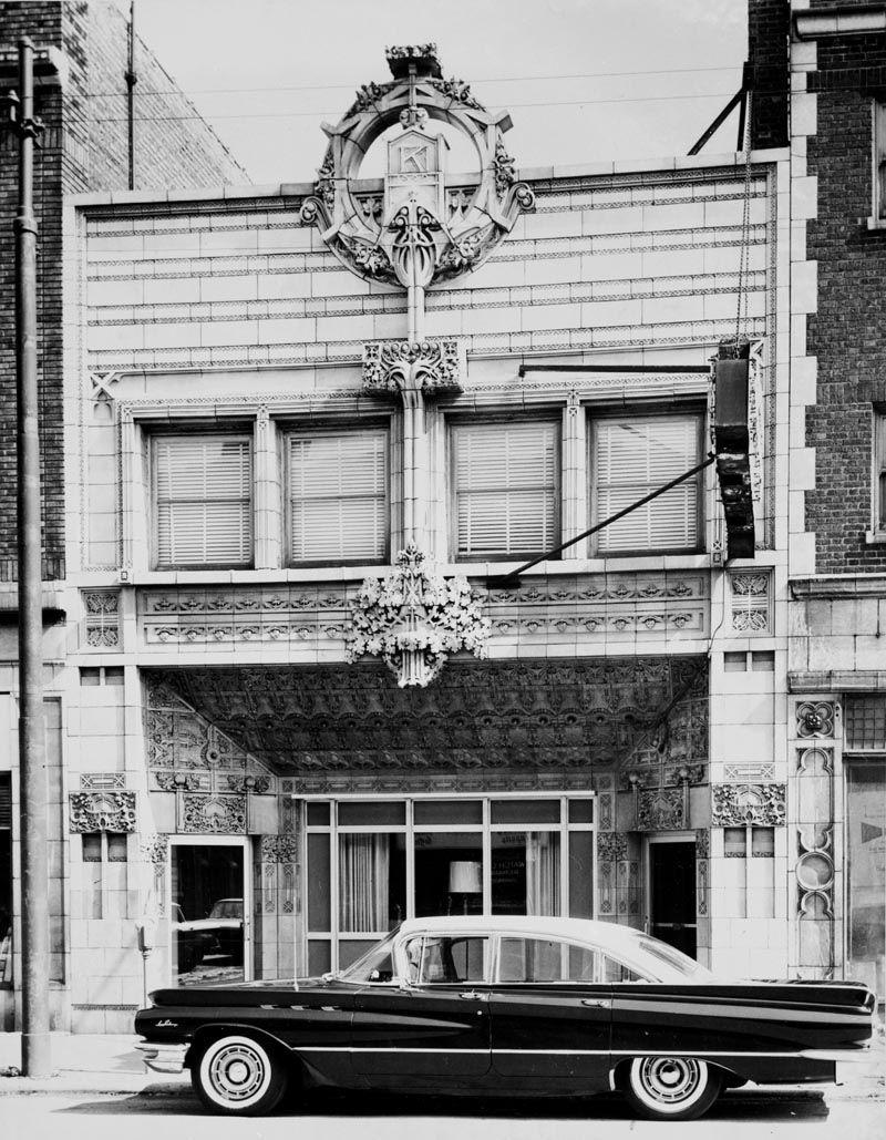 A View Of The Krause Music Store At 4611 North Lincoln Avenue In Chicago S Lincoln Sq Chicago History Chicago Architecture National Register Of Historic Places