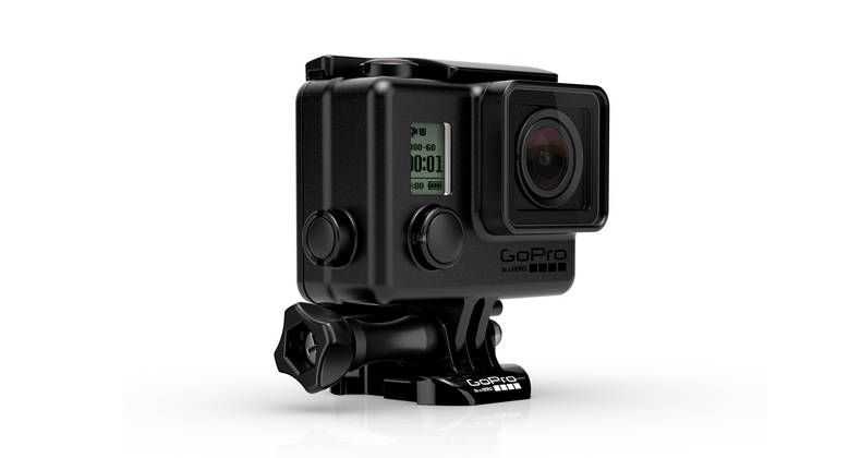 Custodia GoPro Blackout | Con finitura nera opaca per riprese dal profilo basso