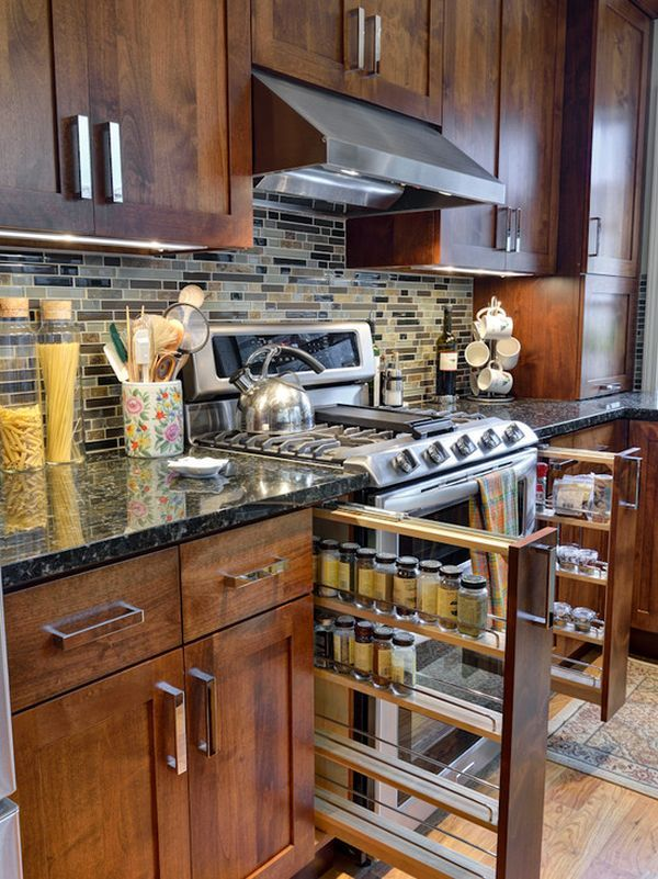 cajon-vertical-para-especias | Cocinas | Pinterest | Especias ...