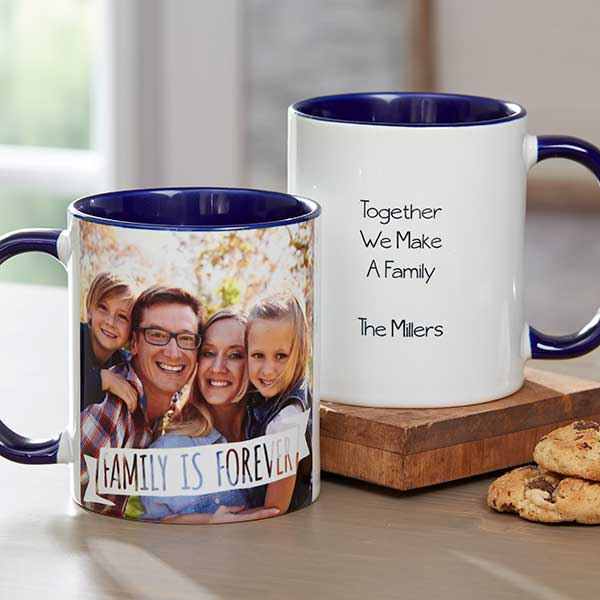 personalized MASON Coffee Mug//Cup using photos of real name signs