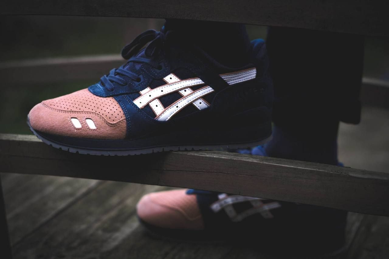 online retailer 8cfed a00e2 Ronnie Fieg x Asics Gel Lyte III  Salmon Toe 2.0  - 2016 by Launch your own  makeup line.  viaGlamour