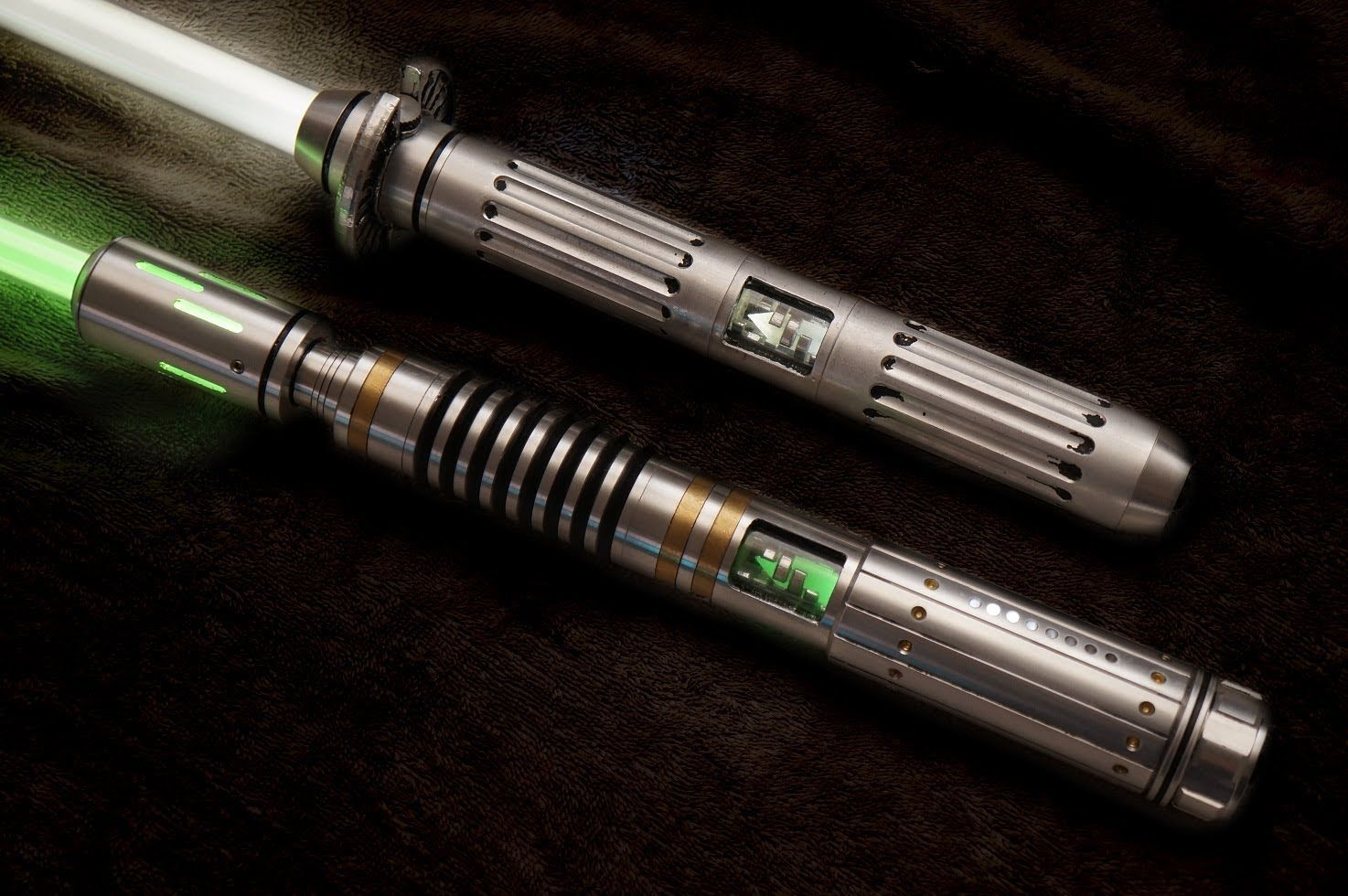 savi workshop Lightsaber custom part connect 2 lightsabers together 4 double sab