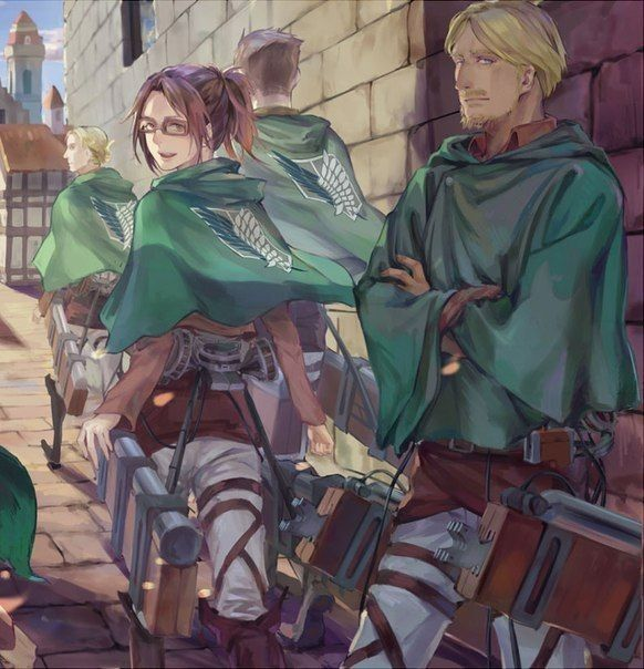 CALL YOUR NAME [Attack On Titan] - 3- Rencontre.