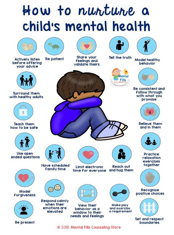 Child and Teen Mental Health Caregiver Poster and Brochure