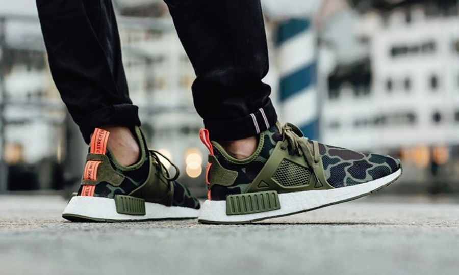 0b0bcc071018 Adidas NMD XR1 Camo On Feet  adidas  camo  trainers  sneakers