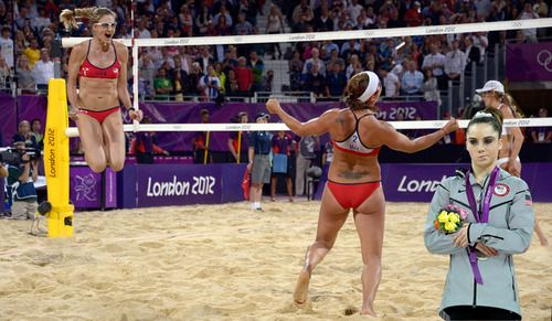 Mckayla Is Not Impressed Volleyball History Misty May Treanor Kerri Walsh