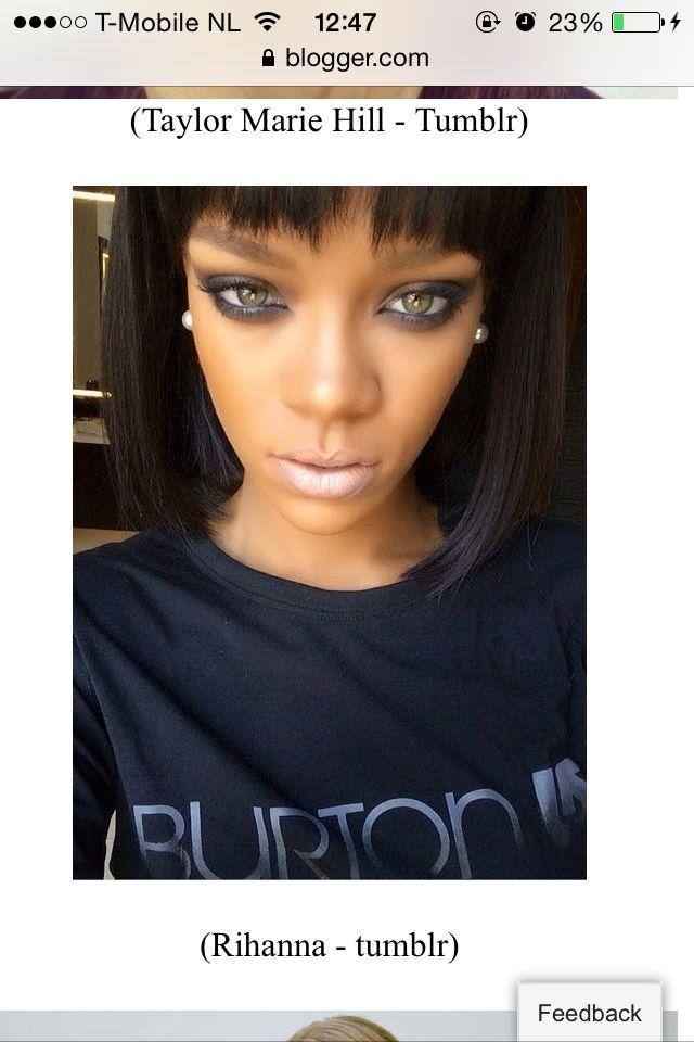 Rihanna makeupp