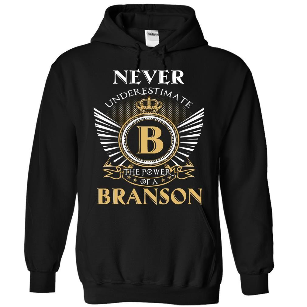 13 Never BRANSON