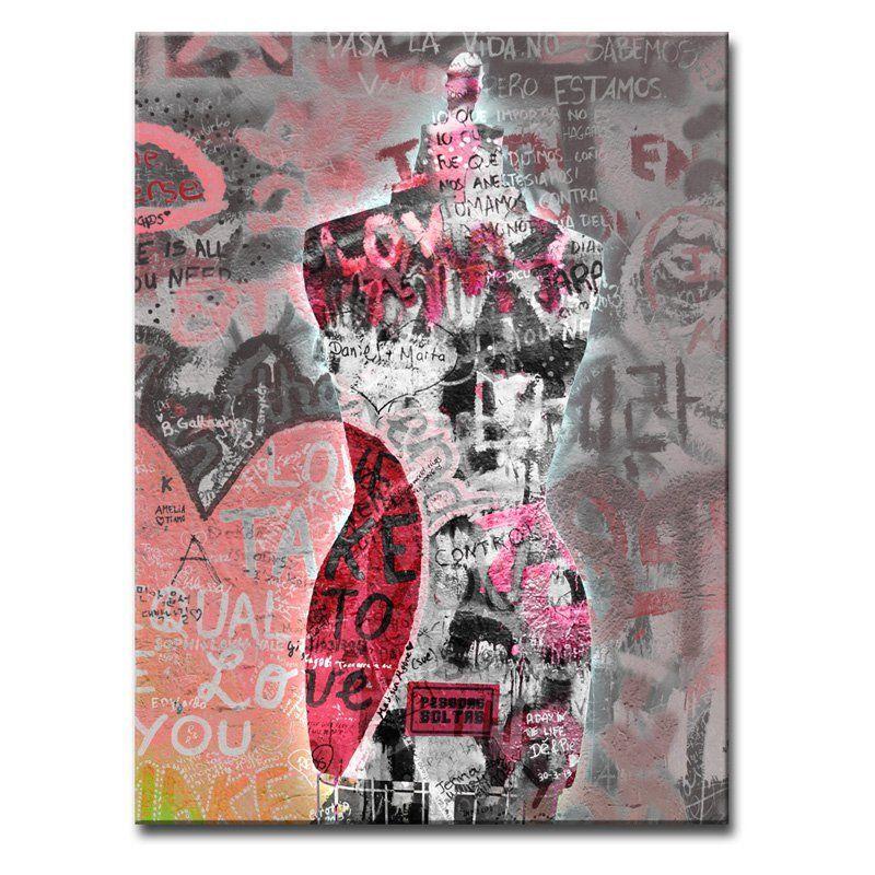 Ready2HangArt Urban Fashion I Wrapped Canvas Wall Art - FASH1-GWC3020