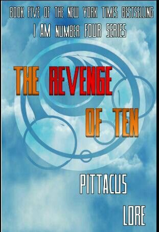 Unofficial Cover For The Fifth Book In The I Am Number Four Series