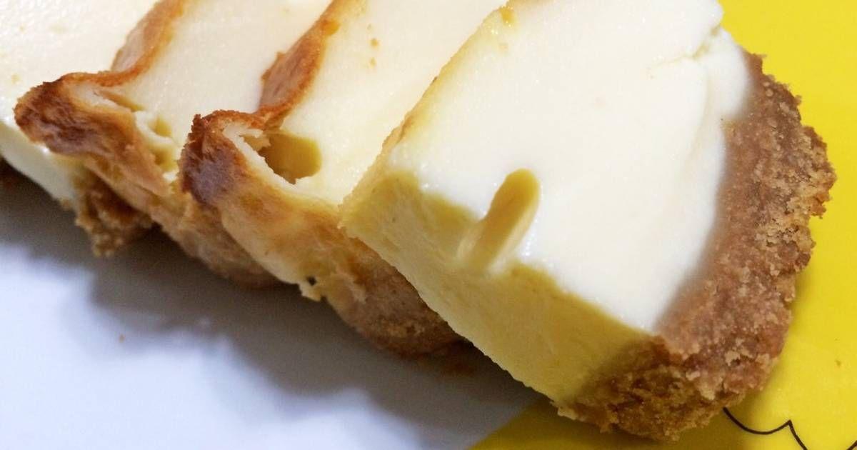 Resep Newyork Cheesecake Oleh Mitha Frencya Halim Resep Kue Keju Makanan Biskuit