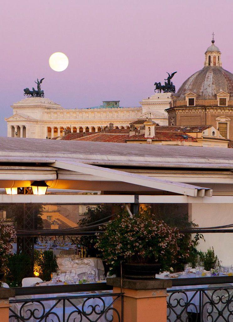 Rooftop. Grand Hotel de la Minerve. Rome   Rome ...