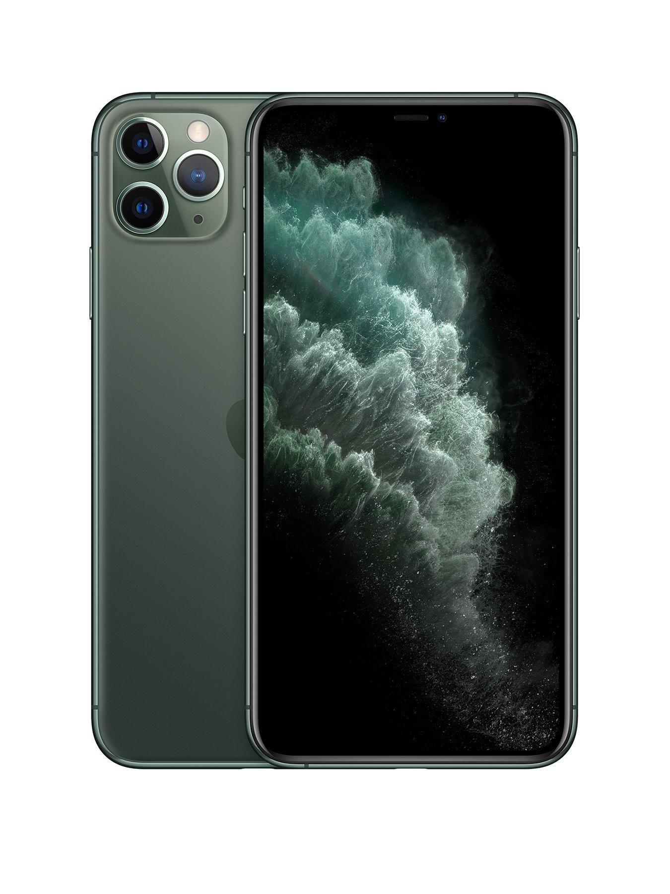 Apple Iphone 11 Pro Max 256gb Midnight Green Iphone Apple Iphone Iphone 11