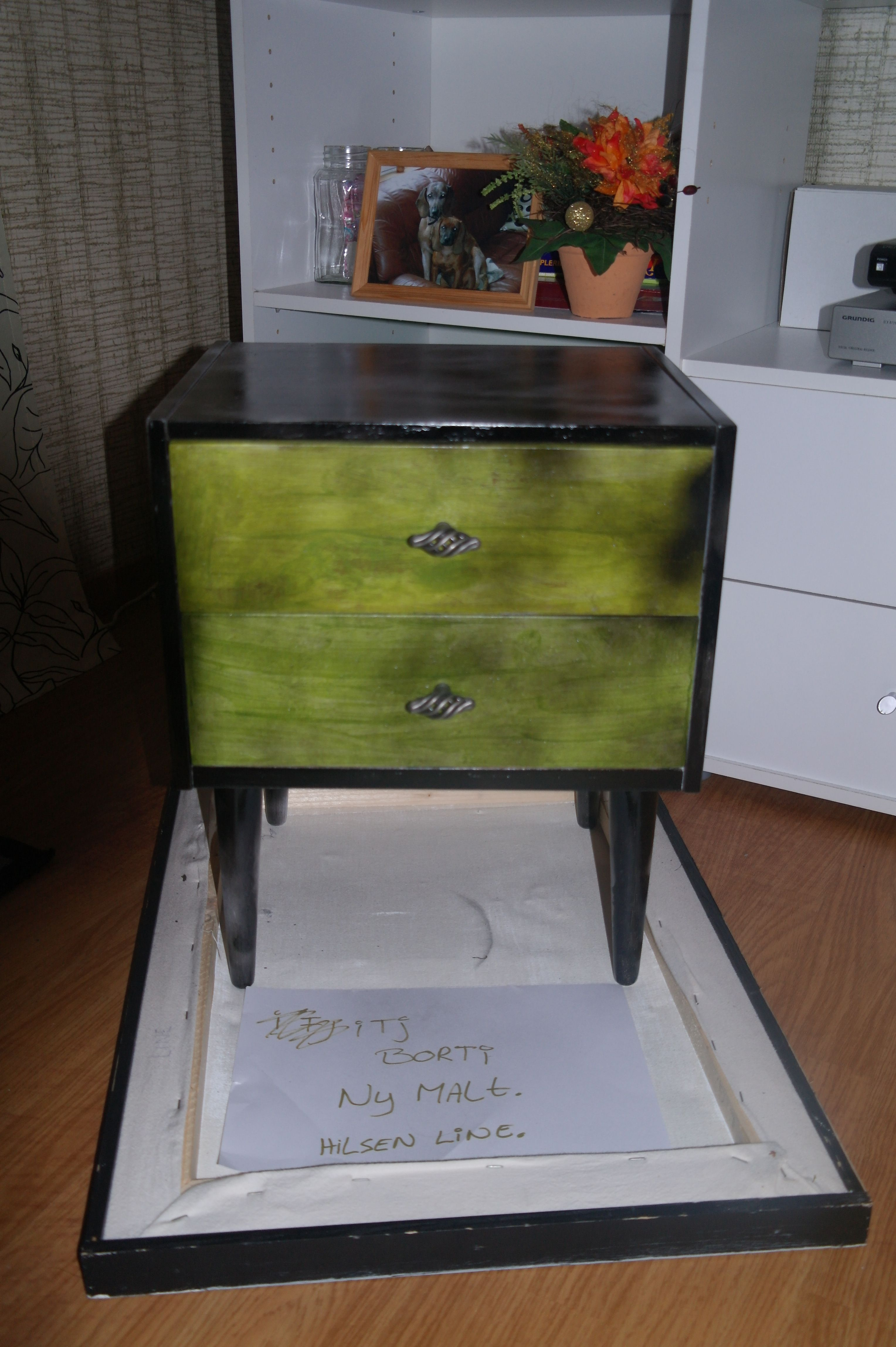 This is the result of my bedside table, what do you think about this?