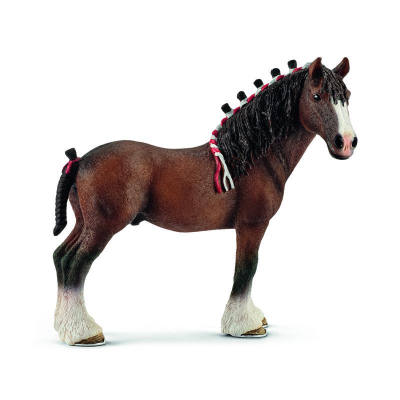 Schleich North America Clydesdale Gelding Toy Figure 13808