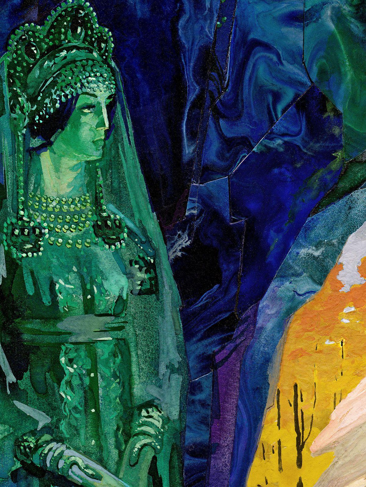 Картинки из сказки бажова хозяйка медной горы
