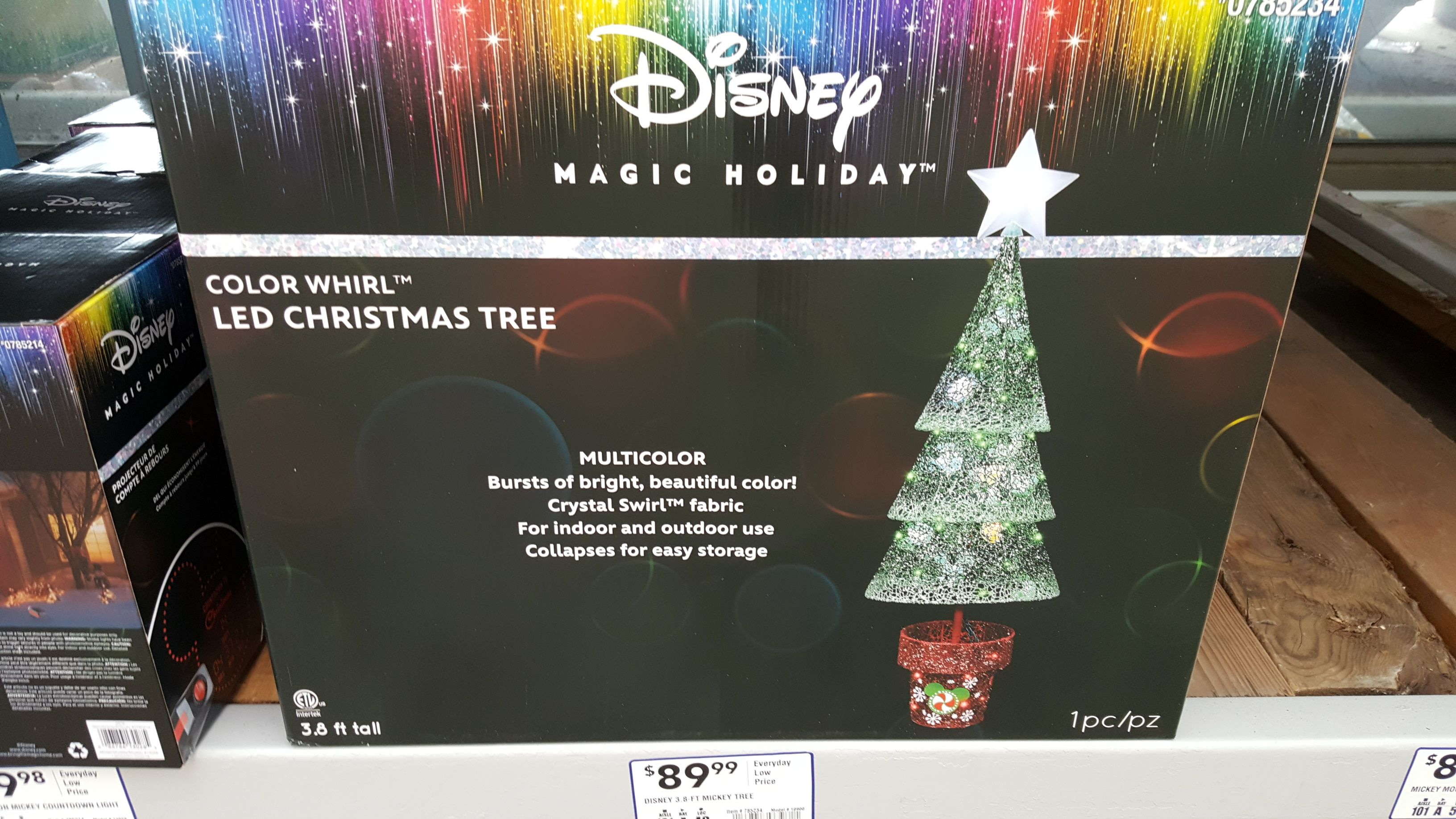 the disney magic holiday collection has arrived at lowes