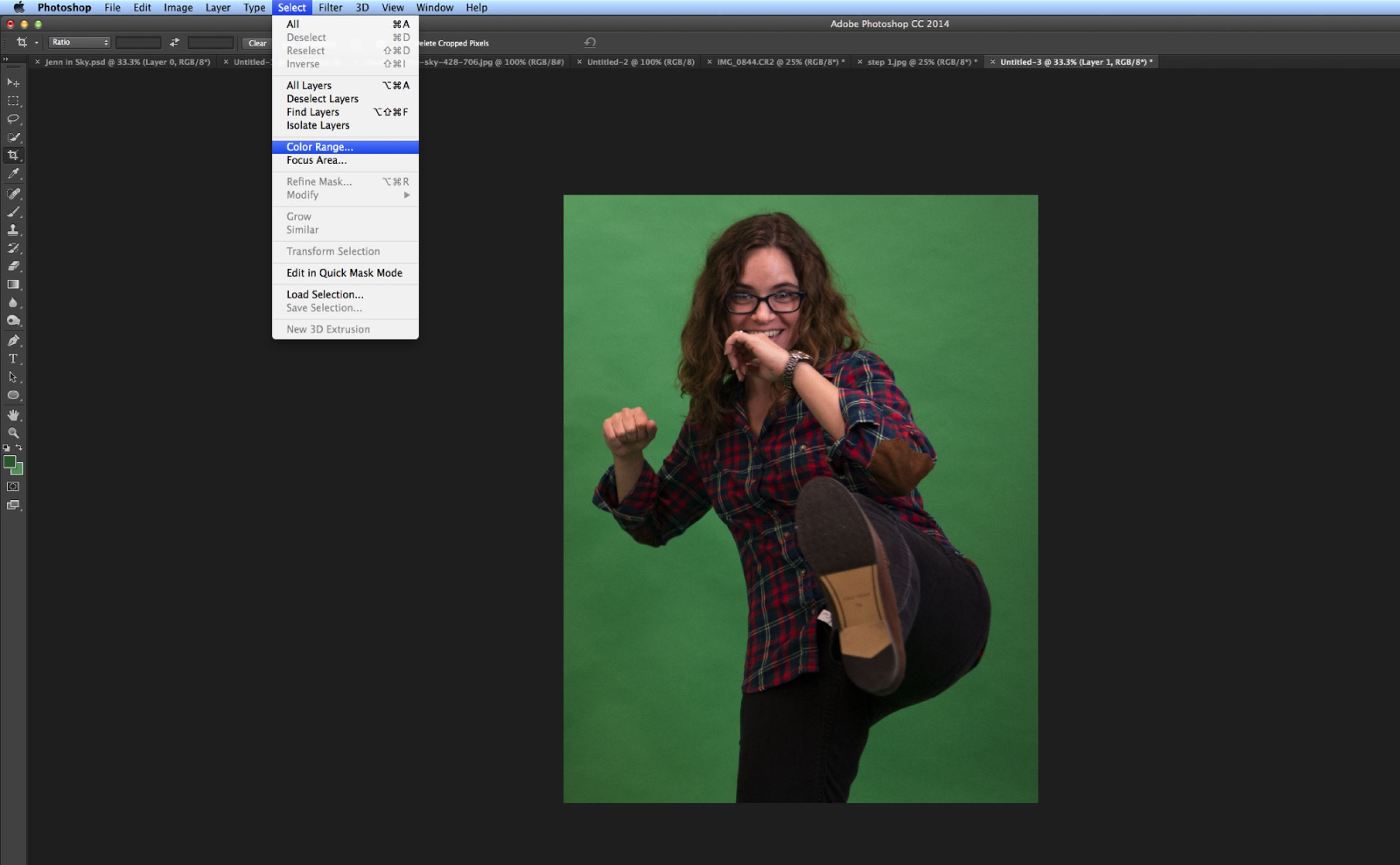 How to Remove Green Screen Background in Foto's