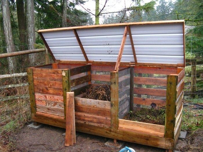 komposter selber bauen anleitung in einfachen schritten bauen. Black Bedroom Furniture Sets. Home Design Ideas