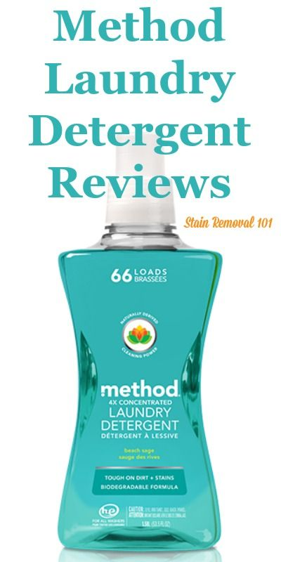 Method Laundry Detergent Reviews Ratings And Information Method