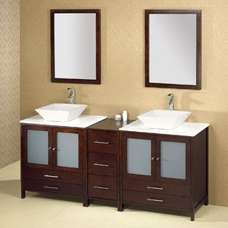 Like the vanity, not the sinks.
